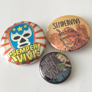 Sempervivi Buttons 3 pack