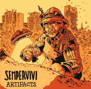 "Sempervivi ""Artifacts"" EP cover art"
