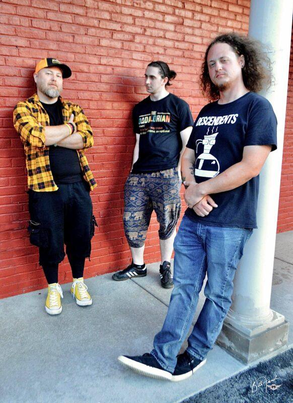Sempervivi band photo outside Lynagh's Pub, Lexington, KY