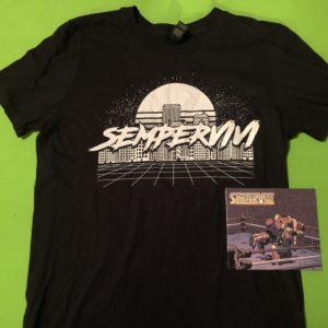 Sempervivi 80s shirt / CD Bundle