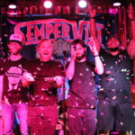 Sempervivi celebrating at our CD release show