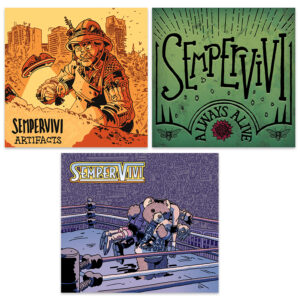 All 3 Sempervivi CDs