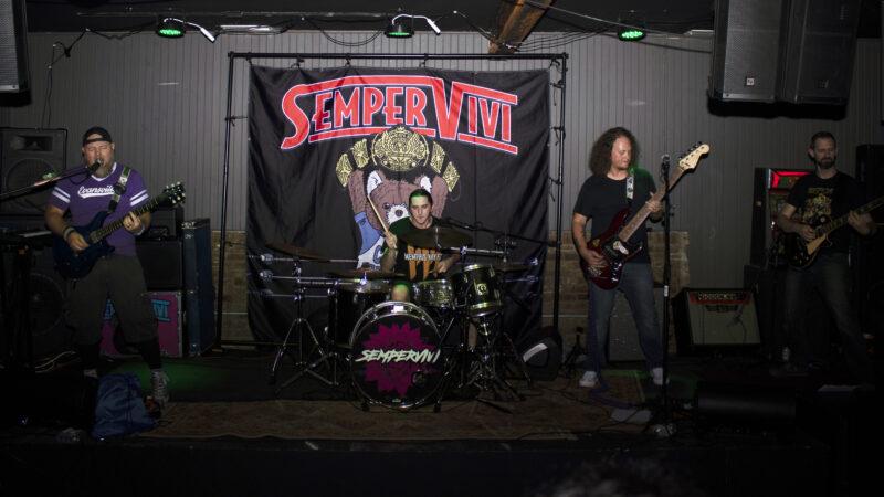 Kentucky punk band Sempervivi with new member Mando on guitar!